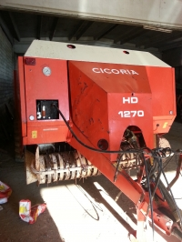 Used Cicoria big baler HD1270