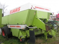 Claas Quadrant 1200 RC, big square baler.